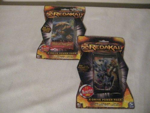 Redakai Conquer the Kairu 3D and animated trading card game & Redakai X-Drive Power Pack 3D, 11 cards per pack (2 pack) (Redakai Starter Pack compare prices)