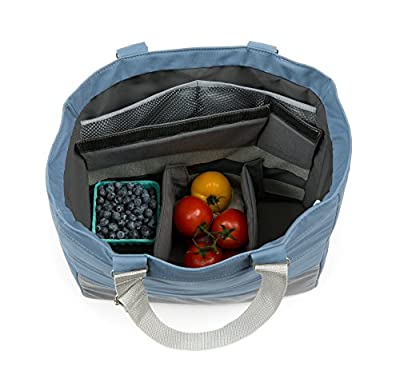 """The Insulated Reusable """"Smart"""" Grocery Tote 