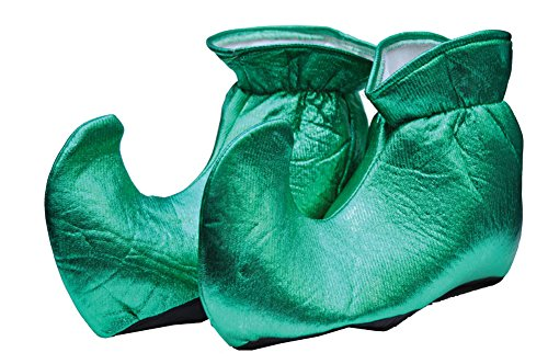 Girls - Kids-elf Shoes Cloth Green Leprechaun Costume- 1 Size