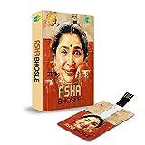 #9: Music Card: Asha Bhosle - 320 Kbps MP3 Audio (4 GB)