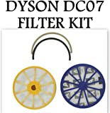 DYSON DC07 ANIMAL PRE & POST MOTOR HEPA FILTER KIT & SEAl