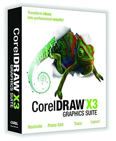CorelDRAW Graphics Suite X3 Upgrade [OLD VERSION]