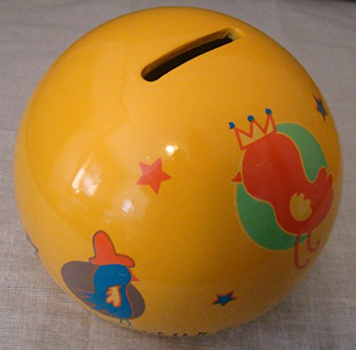 All Creatures Great & Small Child's Ceramic Penny Bank
