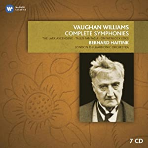 Vaughan Williams: The Complete Symphonies, The Lark Ascending, Tallis Fantasia, etc. from EMI