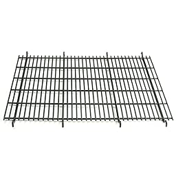 ProSelect Floor Grates for Black Cages - Durable and Versatile Grates to Keep Pets Elevated in ProSelect Wire Crates - Medium/Large, Black