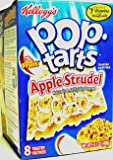 #9: Kelloggs Apple Strudel Pop Tarts 400g