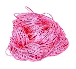 EOZY Un Líe Cuerda De Nylón Cinta Para Trenzada Nudo China 1mm*27m Rosa Brillante   Más información y revisión del cliente