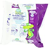 Pampers Kandoo Sensitive Flushable Wipes, 100 Count (Pack of 6) Infant, Baby, Child