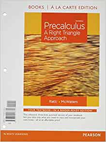 precalculus a right triangle approach 3rd edition pdf download
