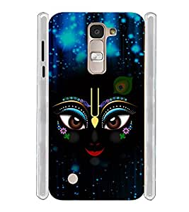 Lord Sri Krishna Kanayya Soft Silicon Rubberized Back Case Cover for LG K7 Dual :: LG K7