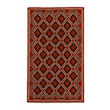 Riva Carpets Diamond Area Rug (Red)