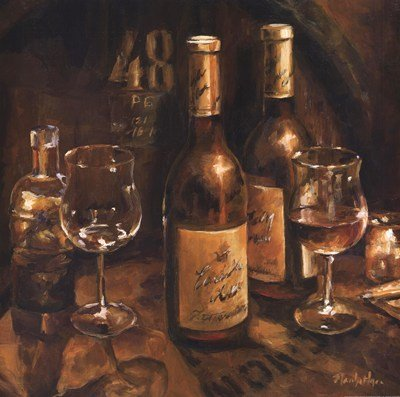 Wine Making by Marilyn Hageman
