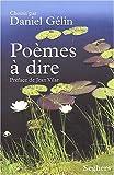 echange, troc Collectif, Daniel Gélin - Poèmes à dire