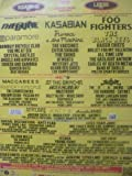 Leeds & Reading Festival 2012 (The Cure, Kasabian, Black Keys) - Poster Ad