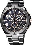 [シチズン]CITIZEN 腕時計 ATTESA アテッサ Eco-Drive エコ・ドライブ 電波時計 ダイレクトフライト ディスク式 DLC仕様 【数量限定】 BY0045-66E メンズ