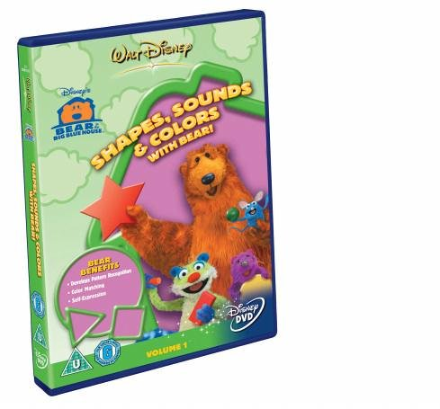 Bear In The Big Blue House - Shapes, Sounds and Colours [DVD]