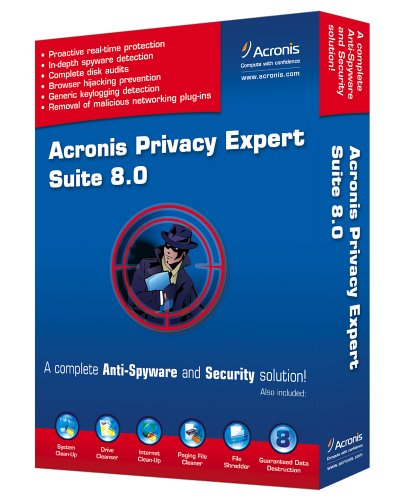 Acronis Privacy Expert Suite 8.0 front-615764