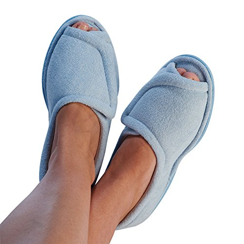 womens-clinic-comfort-terry-cloth-slippers-light-blue-x-large-wide-width