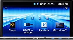 See Sony GS Series XAV712HD Video Receiver with Double DIN 7-Inch WVGA Touch Screen Display Details