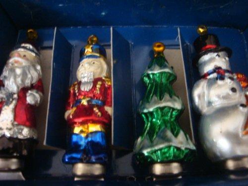 Boston Warehouse Christmas Heirloom Ornament Set Of 4