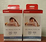 Canon KP-108IN Color Ink Paper Set 3115B002 - 2 Pack