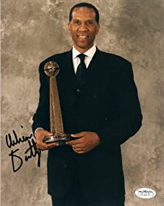 Adrian Dantley Detroit Pistons Autographed Signed 8x10 Photo W JSA Stamp by Hollywood Collectibles