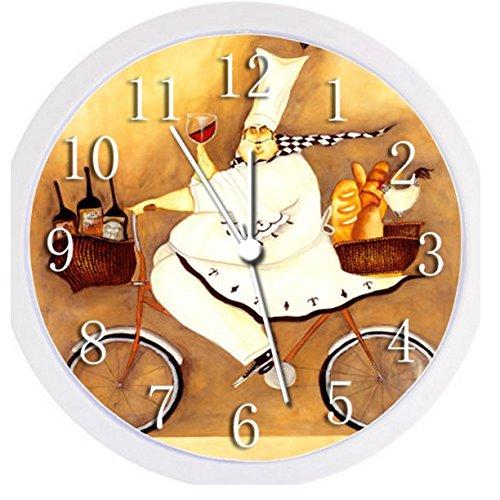 Fat Chef Wall Clocks