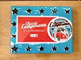 VW Classic Campervan Retro Glass Photo Frame 4