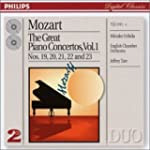 Mozart: The Great Piano Concertos Vol. 1