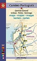 Camino Portugues Maps - Mapas - Mappe - Karten - Cartes: Camino Central: Lisboa - Porto - Santiago