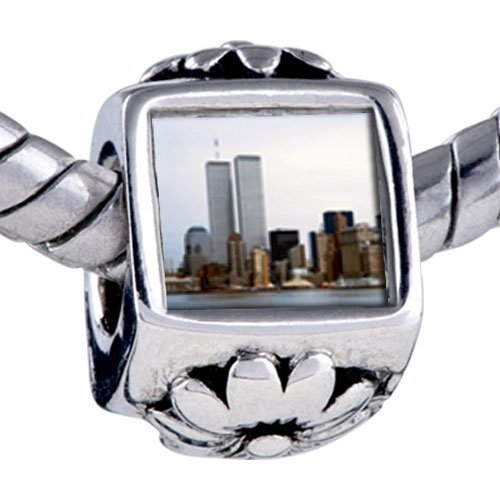 Pugster New York Twin Towers Beads - Chamilia Bead & Bracelet Compatible