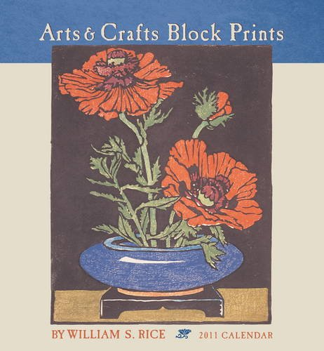 Arts & Crafts Block Print 2011 Calendar