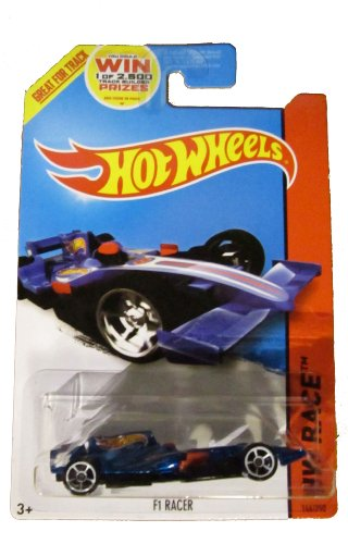 Hot Wheels 2014 Hw Race Team Blue F1 Racer 146/250 - 1