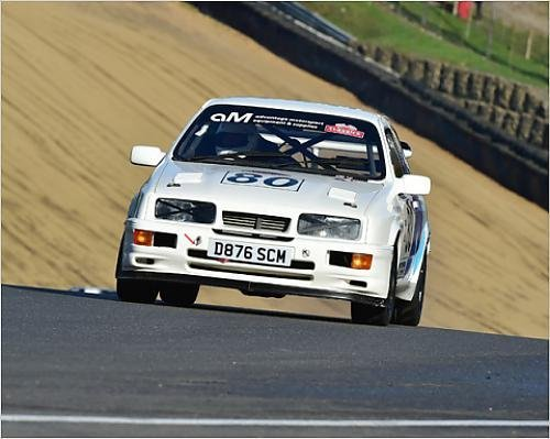 Photographic Print of CM11 5674 Mike Watson, Ford Sierra Cosworth Turbo