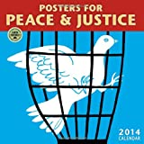 img - for Posters for Peace & Justice 2014 Wall Ca book / textbook / text book