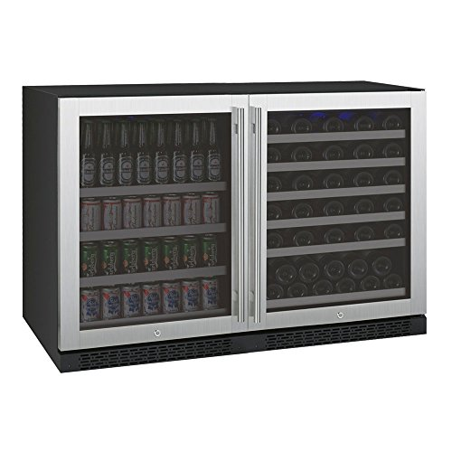 Buy Allavino FlexCount Series Side-by-Side Wine Refrigerator and Beverage Center Stainless Steel