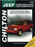 Jeep Wagoneer/Comanche/Cherokee    1984-98 (Chilton