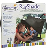 RayShade® UV Protective Stroller Shade Improves Sun Protection for Strollers, Joggers and Prams Black (Discontinued by Manufacturer)