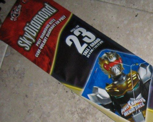 """Power Rangers 23"""" Skydiamond Diamond Kite"""