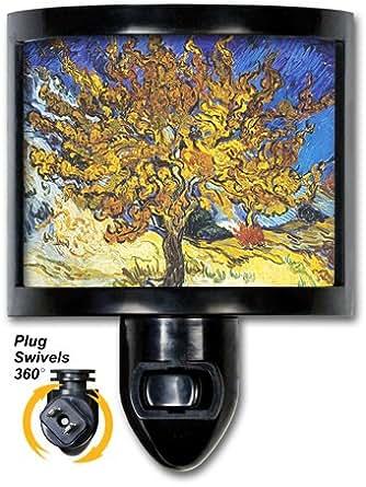 Decorative Night Light Van Gogh Mulberry Tree Fine Art