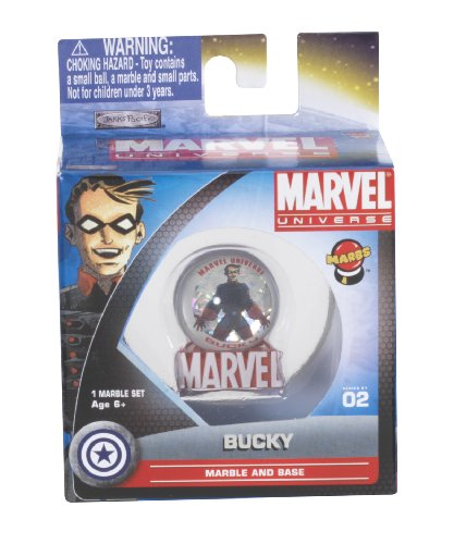 MARBS? Marvel Heroes Marbles Series 1 - 1 Pack w/Display Tray