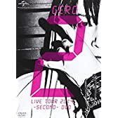 Gero/Live Tour 2014 -SECOND- DVD(初回限定盤)