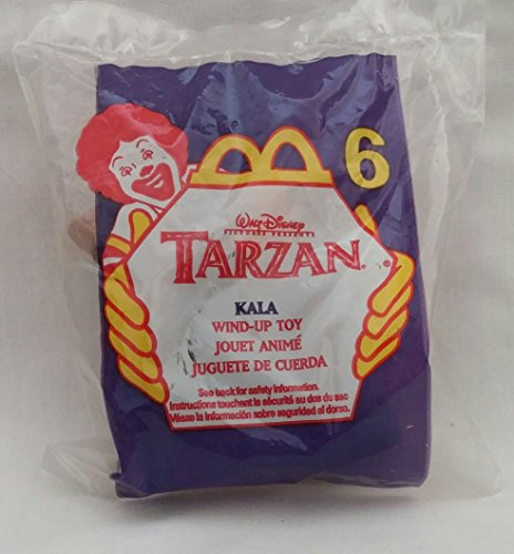 1999 Mcdonalds Tarzan Kala Happy Meal Toy #6 MIP Disney