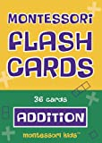 Montessori Flash Cards Addition - Basic