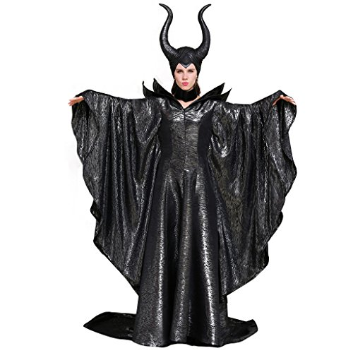 Halloween 2017 Disney Costumes Plus Size & Standard Women's Costume Characters - Women's Costume CharactersCosplaydiy Women's Costumes of Maleficent Angelina Jolie Dark Witch Queen Dress