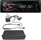 Pioneer-CD-MP3-USB-AUX-Autoradio-fr-VW-Polo-Lupo-Fox-Passat-T5