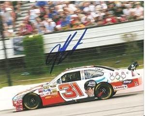 Jeff Burton Autographed Photo - 8x10 Daytona - Autographed NASCAR Photos by Sports Memorabilia