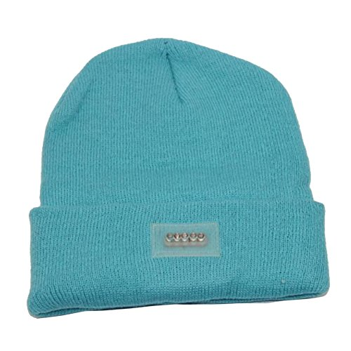 allmill-unisex-5-led-knitted-beanie-hat-canal-blue