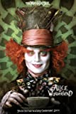 (24x36) Alice in Wonderland Movie Mad Hatter Poster Print