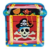 Pirate Plastic Snack Plate [Toy]by Party Bags 2 Go